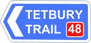 Tetbury Trail Sign