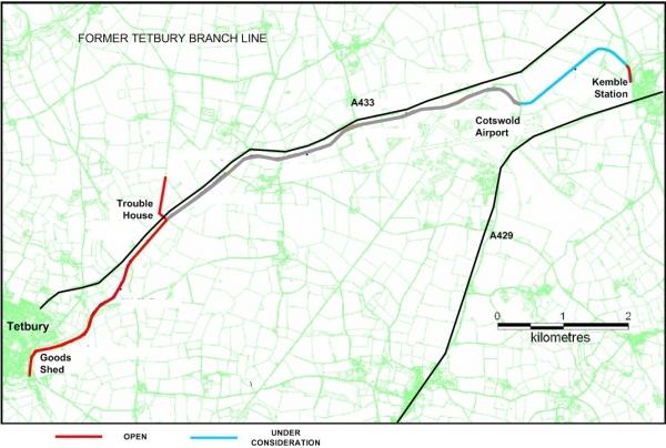 Tetbury Trail Status