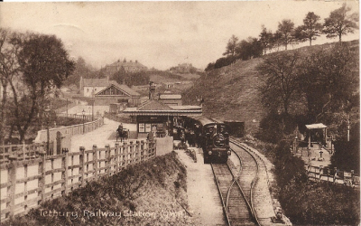Tetbury Station and the Rail Lands